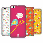 HEAD CASE DESIGNS BIRD PATTERNS SOFT GEL CASE FOR HTC ONE X9