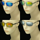MIRROR SUNGLASSES GLASSES NEW AVIATOR METAL FRAME MEN WOMEN SPRING HINGE LENS MM