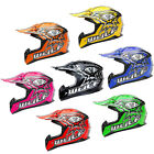 Wulfsport Cub Flite-Xtra Motocross MX Helmet Kids Junior MX ATV Quad Bike Wulf