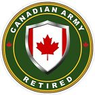 Canadian Army Retired 2 Decal / Sticker