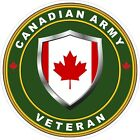 Canadian Army Veteran Vet Decal / Sticker