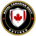 Royal Canadian Navy RCN Retired Decal / Sticker