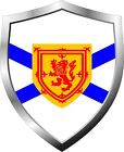 Nova Scotia Flag Shield Decal / Sticker