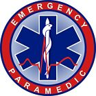 Emergency Paramedic Medical Decal Bumper Sticker