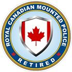 Royal Canadian Mounted Police RCMP Retired Decals / Stickers