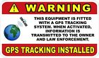 GPS Tracking For Equipment Decals / Stickers