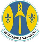 US Air Force USAF 564th Missile Squadron Decal / Sticker