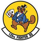 US Air Force USAF 125th Fighter Squadron Decal / Sticker