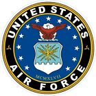 U.S. Air Force Round Decal / Sticker