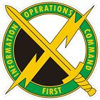 U.S. Army 1st Information Operations Decal / Sticker