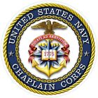 United States Navy Chaplain Corps Decal / Sticker