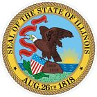 Illinois State Seal Decals / Stickers