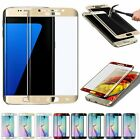 Full Cover Tempered Glass Curved Screen Protector for Samsung Galaxy S6 Edge +