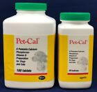 Pet Cal Calcium Phosphorous Vitamin D & Mineral Dietary Supplements Dog and Cat