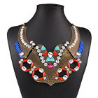 Newest Women's Fashion Jewelry Charms Chunky Statement Choker Collar Necklace