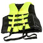 L-2XL Adult Swimming Boating Drifting Safety Life Jacket Vest +Whistle TA T1P5