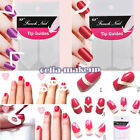 1 Bag French Manicure Nail Art Tips Form Guide Sticker Polish DIY Stencil Nice