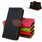 For Multi Phone Leaf Wallet Card Pocket Stand Flip Magnet Leather Case Cover