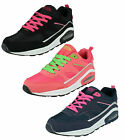 Ladies Air Tech Lace Up Casual Trainers in 3 Colours Style LEGACY
