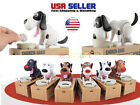 Cute Choken Bako Hungry Dog Eating Automatic Coin Piggy Bank Money Saving Box