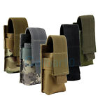 Heavy Duty Nylon Case for Multiple Tactical Flashlight Molle Pouch Belt Holster
