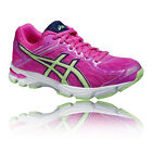 Asics Junior GT-1000 4 GS Junior Pink Running Road Sports Shoes Trainers Pumps