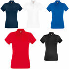 Fruit of the Loom Lady Fit Performance Polo Shirt Wicking Running Tennis -SS272