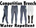 Competition Breeches Full Seat * Water Proof * Half Base Lower Leg Pro Breeches