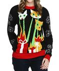 Ugly Laser Cat-zillas Christmas Sweater