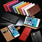 Kyпить Genuine Real Leather Slim Flip Wallet Case Cover For Apple iPhone SE на еВаy.соm