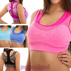 Top woman intimo bra sport fitness race workout elastic new BX-5572