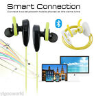NEW Wireless 4.1 Bluetooth Handsfree Sport Headset Earphone for iPhone Samsung