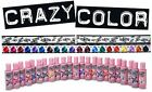 Crazy Color Colour Hair Dye - 4 packs, Semi Permanent, All Colours
