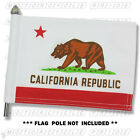 CALIFORNIA MOTORCYCLE FLAG   6X9 or 10X15   Double Sided & Double Stitched