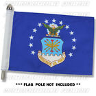 AIR FORCE MOTORCYCLE FLAG   6X9 or 10X15   Double Sided and Double Stitched