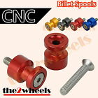 Aluminium Lightweight Swingarm Spools Sliders M8 8mm Triumph Tiger 800 /XC 2010+