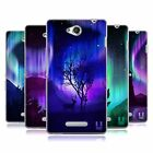 HEAD CASE DESIGNS NORTHERN LIGHTS SOFT GEL CASE FOR SONY PHONES 3