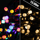 200 Frosted LED Lights - warm white, multi coloured, multi function, fairy light