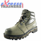 Caterpillar CAT Junction Mens Premium Leather Outdoor Hiking Work Boots Olive