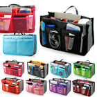 New Women Travel Insert Handbag Organiser Purse Large Liner Organizer Tidy Bag