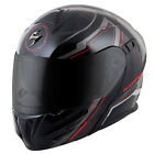 Scorpion EXO GT920 Satellite Red Black Modular Motorcycle Helmet