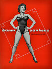 DAMN YANAKEES BROADWAY SOUVEINR PROGRAM - GWEN VERDON