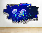 A271 Jelly Fish Aquarium Ocean Sea Coral Wall Decal Poster 3D Art Stickers Vinyl