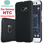 Nillkin Case Cover For HTC One M7 M8 M9 M 7 8 9 10 M10 Desire + Screen Protector