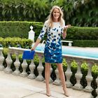 Summer Sexy Women Office Lady Boho Cocktail Party Floral Sheath Short Dress