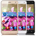 "5"" Touch Unlocked Quad Core Android 6.0 Smartphone GSM Dual SIM Mobile Phone UK"