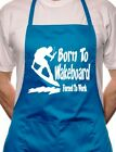 Born To Wakeboard Waterski BBQ Cooking Funny Novelty Apron