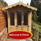 The Harriet  Garden Summerhouse Fully T&G & Fully Tanalised FITTED & DELIVERED