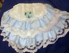 DREAM GIRLS ROMANY VARIOUS GINGHAM TRIM FRILLY KNICKERS PINK BLUE BLACK LIME