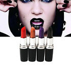 New Women 6 Colors Makeup Matte Sexy Black Purple Lipstick Cosmetic Pencil